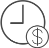 Time Money Icon